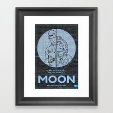Moon… Framed Art Print