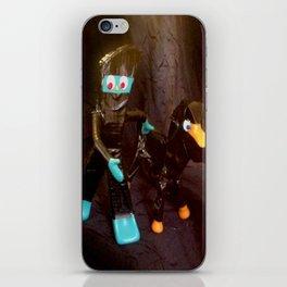 ninja gumby and ninja pokey iPhone Skin