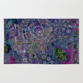 """""""non-existing"""" city """"existing"""" map Rug"""