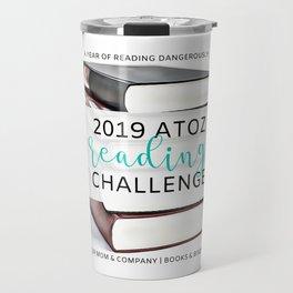 2019 AtoZ Reading Challenge Travel Mug