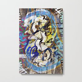 opinions expressed tend to circumnavigate, a logic Metal Print