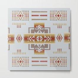 American Native Pattern No. 164 Metal Print