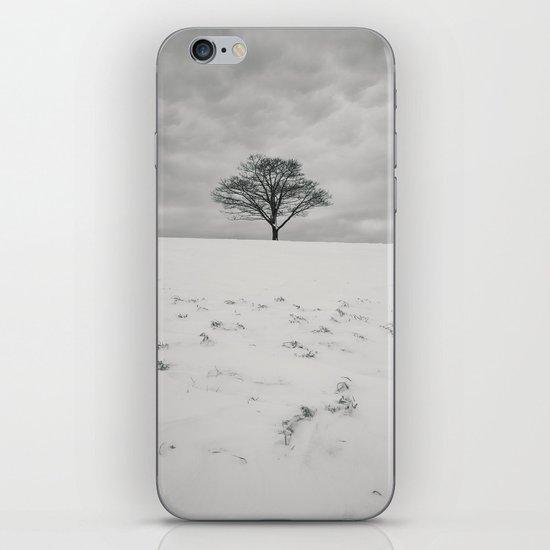 White Winterscape iPhone & iPod Skin