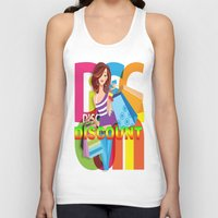 discount Tank Tops featuring Creative Title : DISCOUNT by Don Kuing