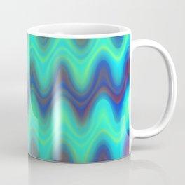 Agate Wave Blue - Mineral Series 001 Coffee Mug