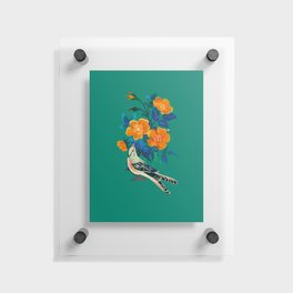 Autumnal Rose Floating Acrylic Print