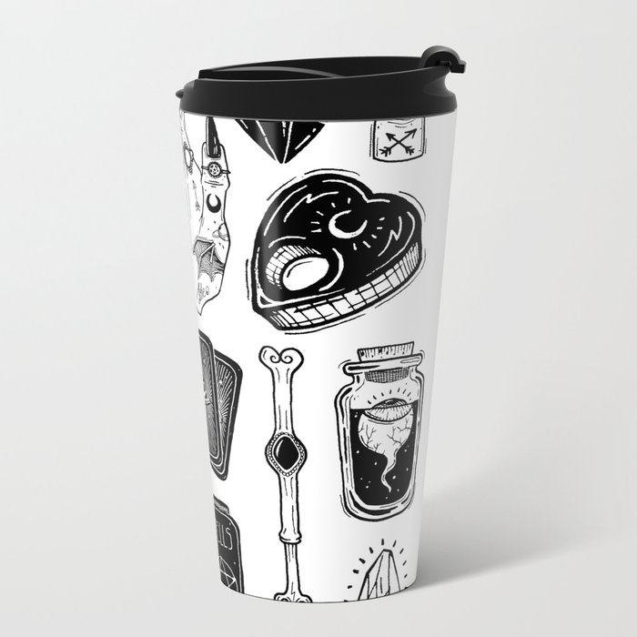 teen Witch Metal Travel Mug