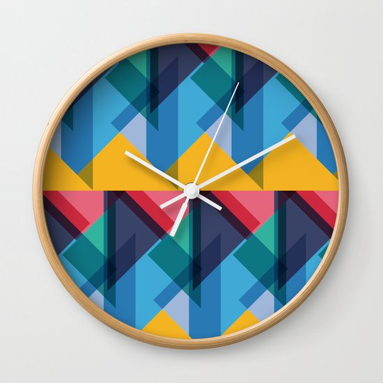 Crazy Abstract Stuff 2 Wall Clock