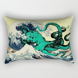 Great Octo-Wave Rectangular Pillow