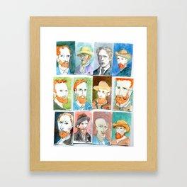 Van Gogh 2 Framed Art Print