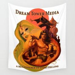 Dream Tower Media Heroic Fantasy Adventure Wall Tapestry