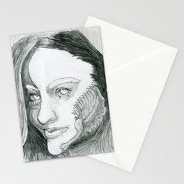 Lady Menace Stationery Cards