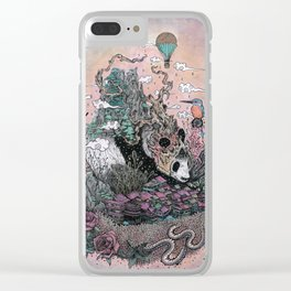 Land of the Sleeping Giant Clear iPhone Case
