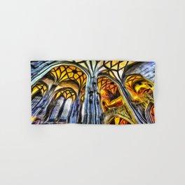Vienna Cathedral Vincent Van Gogh Hand & Bath Towel