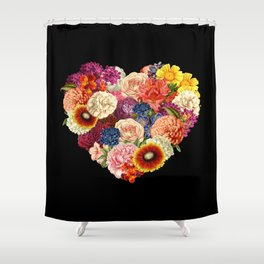 Blooming Love Shower Curtain