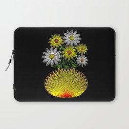String Art Flowers Laptop Sleeve