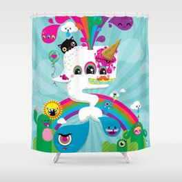 Achieving the Dream Shower Curtain