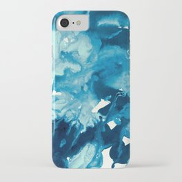 inkblot marble 11 iPhone Case