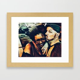 Fausto and Candice Framed Art Print