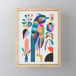 Kookaburra Framed Mini Art Print
