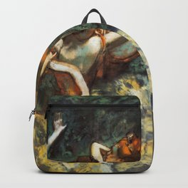 Four Dancers 1900 By Edgar Degas | Reproduction | Famous French Painter Backpack