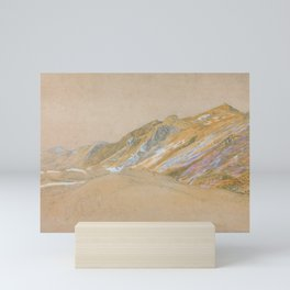 12,000pixel-500dpi - Samuel Palmer - Mountains By The Traveller's Rest Near Dolgelly Mini Art Print