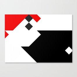 Strict Composition N1 Canvas Print