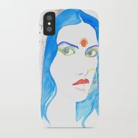 bride iPhone & iPod Cases featuring Bride by RD D