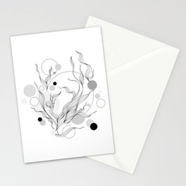 Digital Gray Vector of the Thrive Hopes! Stationery Cards