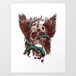 Ooh, I'm so Metal Art Print