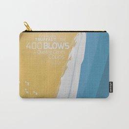 The 400 Blows, les Quatre cents coups, François Truffaut, minimalist movie poster, Jean-Pierre Léaud Carry-All Pouch