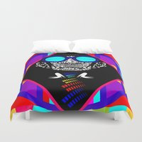 suit Duvet Covers featuring The Suit by lunesme