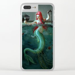 Ariel, today Clear iPhone Case