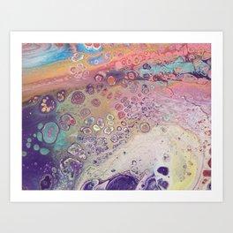 Pour11 Art Print