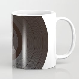 Black Vinyl record Coffee Mug