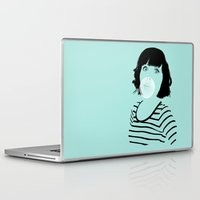 bubblegum Laptop & iPad Skins featuring Bubblegum by FalcaoLucas