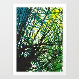 Marble Series, no. 2 Art Print