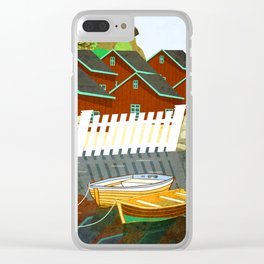 Norway 4 Clear iPhone Case