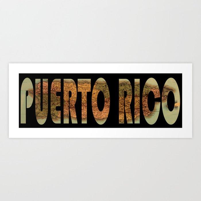 Puerto Rico 1886 Kunstdrucke