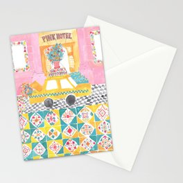 Big Yellow Taxi Stationery Cards
