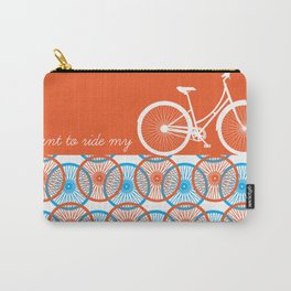 i want to ride my bicycle Carry-All Pouch