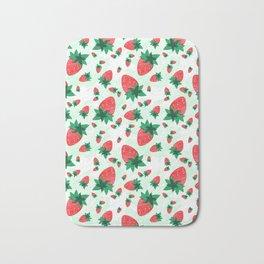 Strawberries Time Bath Mat