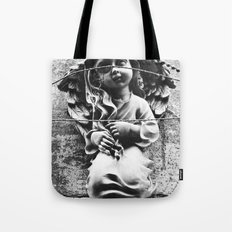 Angel in distress Tote Bag