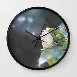 white flavour Wall Clock