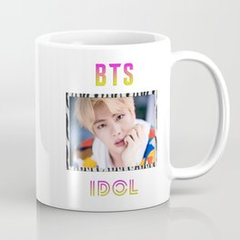 BTS Song IDOL Design - Jin Coffee Mug