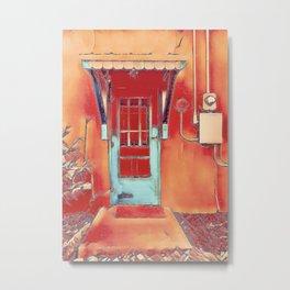 Bunk House Door Metal Print