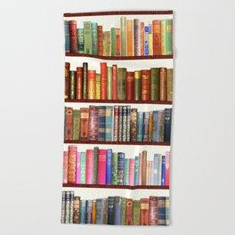 Jane Austen Vintage Book collection Beach Towel