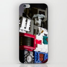 I will crush all Decepticons that come in my way! iPhone Skin