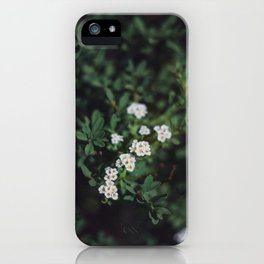 Backyard Flowers (3) iPhone Case