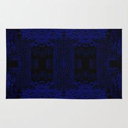 Blue Chamber Rug